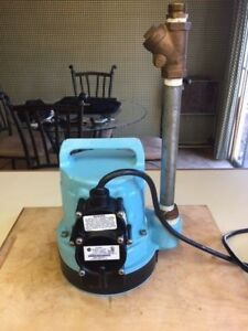Model 10 cia Little Giant 510901 Submersible Pump 1 Phase Water Pump Big John