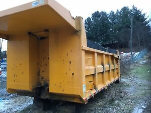 16 Dump Truck Body With Lift Gate And Sub Floor Heat
