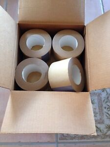 12 Case Clear Adhesive Transfer Tape 3 5 Wide X 60 Yards 2 0mil New