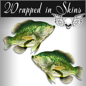 Rv Decals 2 Crappie Fish Stickers 24 Boat Graphic Decals Fishing Stickers Rv 2