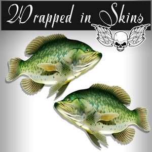 Rv Decals 2 Crappie Fish Stickers 24 Boat Graphic Decals Fishing Stickers Rv 3