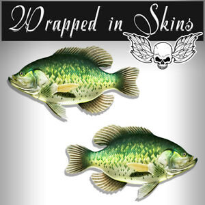 Rv Decals 2 Crappie Fish Stickers 24 Boat Graphic Decals Fishing Stickers Rv 6