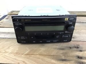 04 07 Toyota Highlander Jbl Rds Am Fm Tape 6 Disc Cd Changer Player Oem