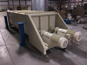 240 Cubic ft Ribbon Blender Heavy Duty Excellent Condition By Hough