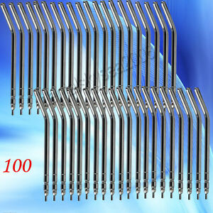 100pcs Dental 3 way Air Water Triple Syringe Nozzles Tips Syq100