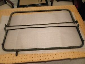 2 Model T Ford Brass Or Copper Windshield Frame Antique Automobile Part 2 Panels