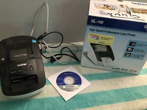 Brother Ql 700 Label Printer Fully Functional