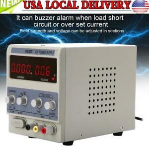 1 3a Precision Adjustable Dc Power Supply Digital Display 0 15v For Phone Repair