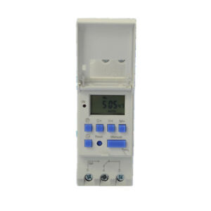 Time Relay Ac 110v Digital Lcd Power Programmable Timer Din Relay Switch Thc15a