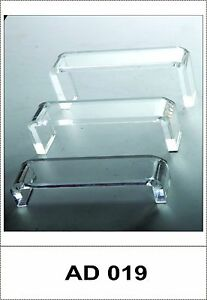 Optical Acrylic Risers Display Stand For Frames And Sunglasses ad 019 9 Pcs