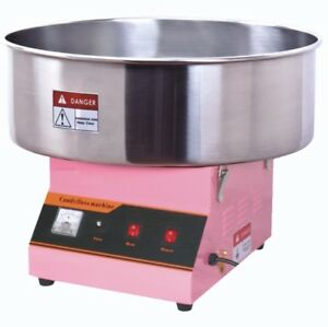Slightly Used Electric Commercial Cotton Candy Machine Floss Maker Pink Vivo