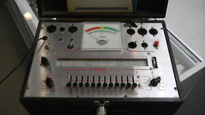 Conar Model 221 Tube Tester With Manual tested And Works Used Sale Pricing