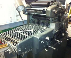 Ab Dick 360 Chain Delivery Offset Printing Press