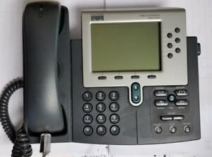 Cisco Ip Phone 7900 Cp 7960g Unified Voip Business Office Phone