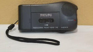 Philips Phillips Pocket Memo 398 Voice Recorder For Parts Or Repair