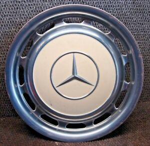 Mercedes Benz Hub Cap Wheel Cover Beige 606 681 15 1 4 Stainless 115 401 03 24