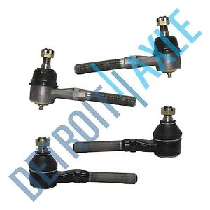 4wd 1997 1998 1999 2002 Ford F150 Expedition All Front Inner outer Tie Rod