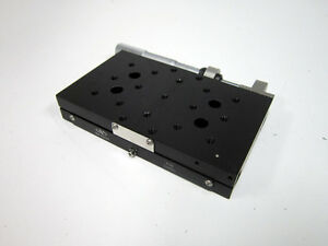 Newport 436 Low profile Crossed roller Bearing Linear Stage With Newport Sm 50