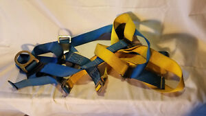 Protecta Saftey Harness Lanyard Anchor And Line