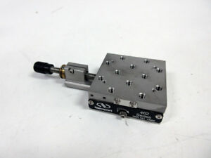 Newport 462 X Linear Translation Stage With 0 5 Adjustment Screw