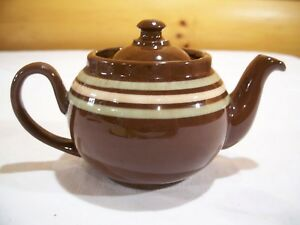 Old English Red Ware 2 Cup Teapot Made By Ridgeway
