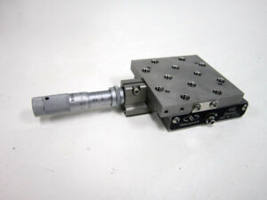 Newport 462 X Linear Translation Stage With 0 5 Mututoyo Micrometer