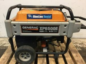 Generac Xp Series 6500e Portable Generator