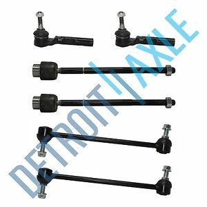 2005 2006 2007 12 Chevy Malibu All Inner Outer Tie Rods Front Sway Bar Links