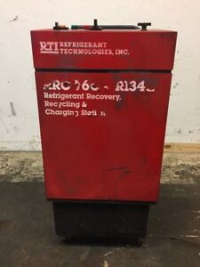 Refrigerant Technologies Model Rrc760 Recovery Recycling Unit