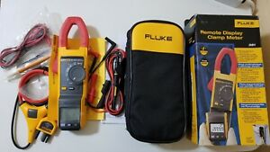New Fluke 381 True rms Ac dc Clamp Meter With Iflex Tp 239360 And 239361