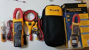 New Fluke 381 True rms Ac dc Clamp Meter With Iflex Tp 239373