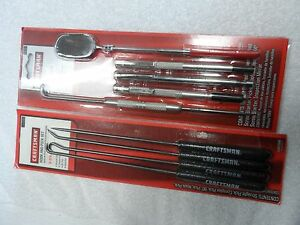 Craftsman Automotive Pick Hook Scribe Specialty Tool Set Made In Usa 9 Pcs