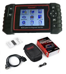 Icarsoft Us V2 0 Diagnostic Scanner Tool Ford Chevy Dodge Jeep Chrysler Abs Srs