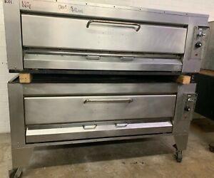 Montague Hearth Bake Double Stack Stone Deck Pizza Ovens Model 25p 2