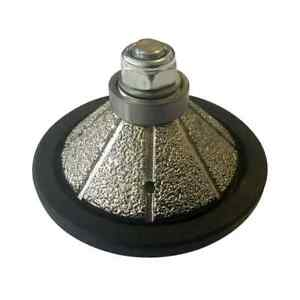 1 Bevel Diamond Profile Wheel For Stone For Handheld Polishers And Grinders
