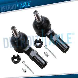 2 Front Outer Tie Rod Ends For Toyota Avalon Camry Sienna Solara Lexus Scion Xd