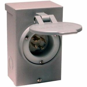 Reliance Controls Electrical Corporation Pb30 30 amp Nema 3r Power Inlet Box For