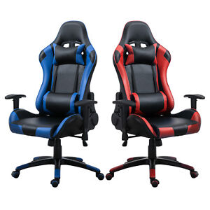 Samincom Ergonomic Gaming Racing Chair With Extra Soft Headrest
