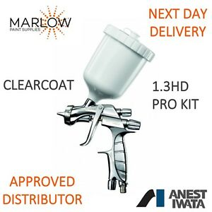 Iwata Ws400 1 3hd Clearcoat Super Nova Spray Gun Next Day Delivery
