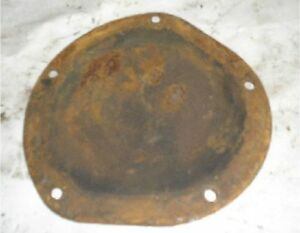 International Td 9 Wd 9 Engine Cover Side Plate