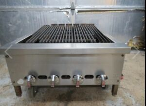 Jade 24 4 Burner Natural Gas Radient Heat Charbroiler Broiler Grill