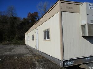 Used 2007 2464 Doublewide Mobile Office Trailer S 35599 600 Kc