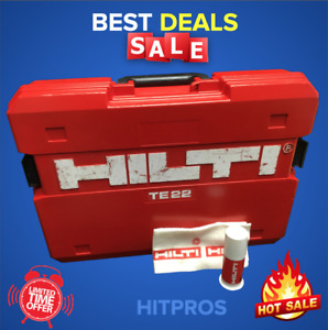 Hilti Te 22 box Only Great Condition Strong Original Fast Shipping