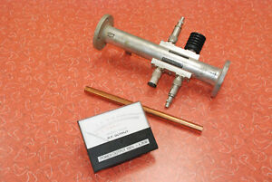 Directional Coupler From 3 Kw Fm Broadcast Transmitter With Power Meter