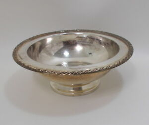 Oneida Silver Plated Round Fruit Bowl 10 5