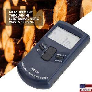 Digital Lcd Wood Moisture Meter Humidity Tester Timber Damp Detector 4 80 Rh