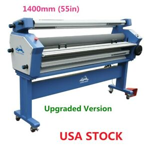Upgraded 55 Full auto Large Format Cold Laminator With Heat Assisted us Stock