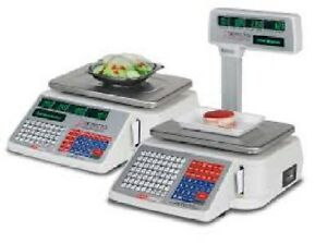 Price Computing Scale With Integral Label Printing