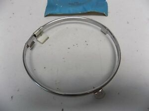 New Oem 1973 1974 1975 1976 Ford Thunderbird Chrome Headlight Ring Trim Surround