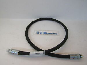 Snow Plow 1 4 X 39 Hose Male Male Ends Replaces Meyer 22396
